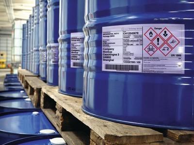 Etikettierlösungen für die Chemieindustrie on der Logopak Systeme GmbH & Co KG