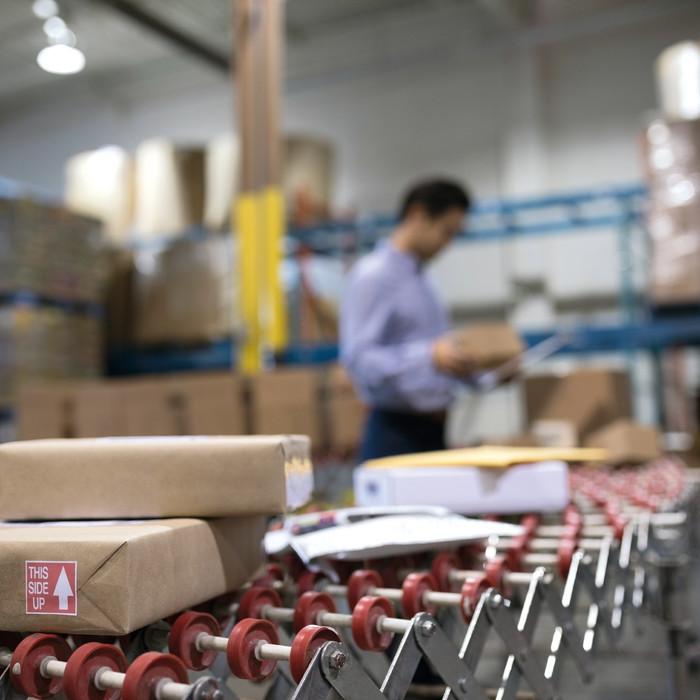 Etikettierlösung für den Versandhandel sowie die Logistik-Branche