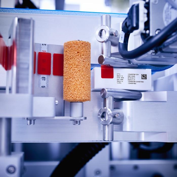 Etikettierlösungen für die Pharma-Industrie